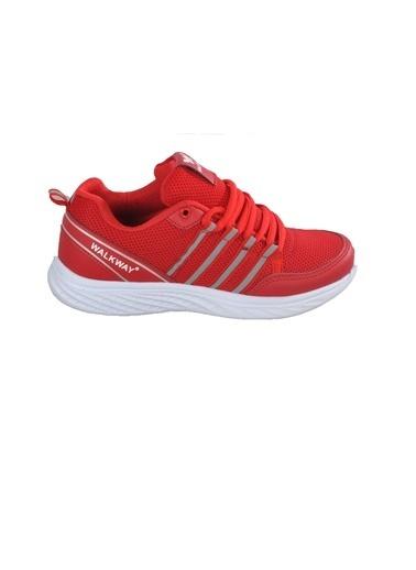 Walkway 1876 Buz Kadın Spor Ayakkabı Kırmızı